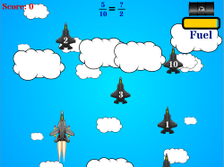 Jet Reduction: Fractions Game