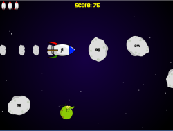 Rocketship Reader Game