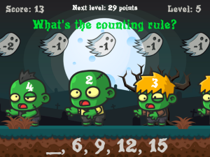 Zombie Paintball: Math Game