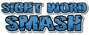 Sight Word Smash Title