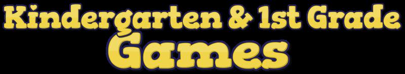 1st Grade and Kindergarten Games