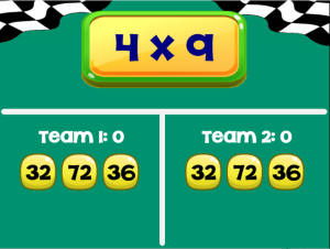 Flash Cards: Math Game