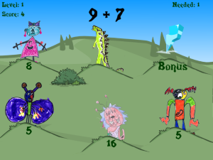 Basic Facts Game